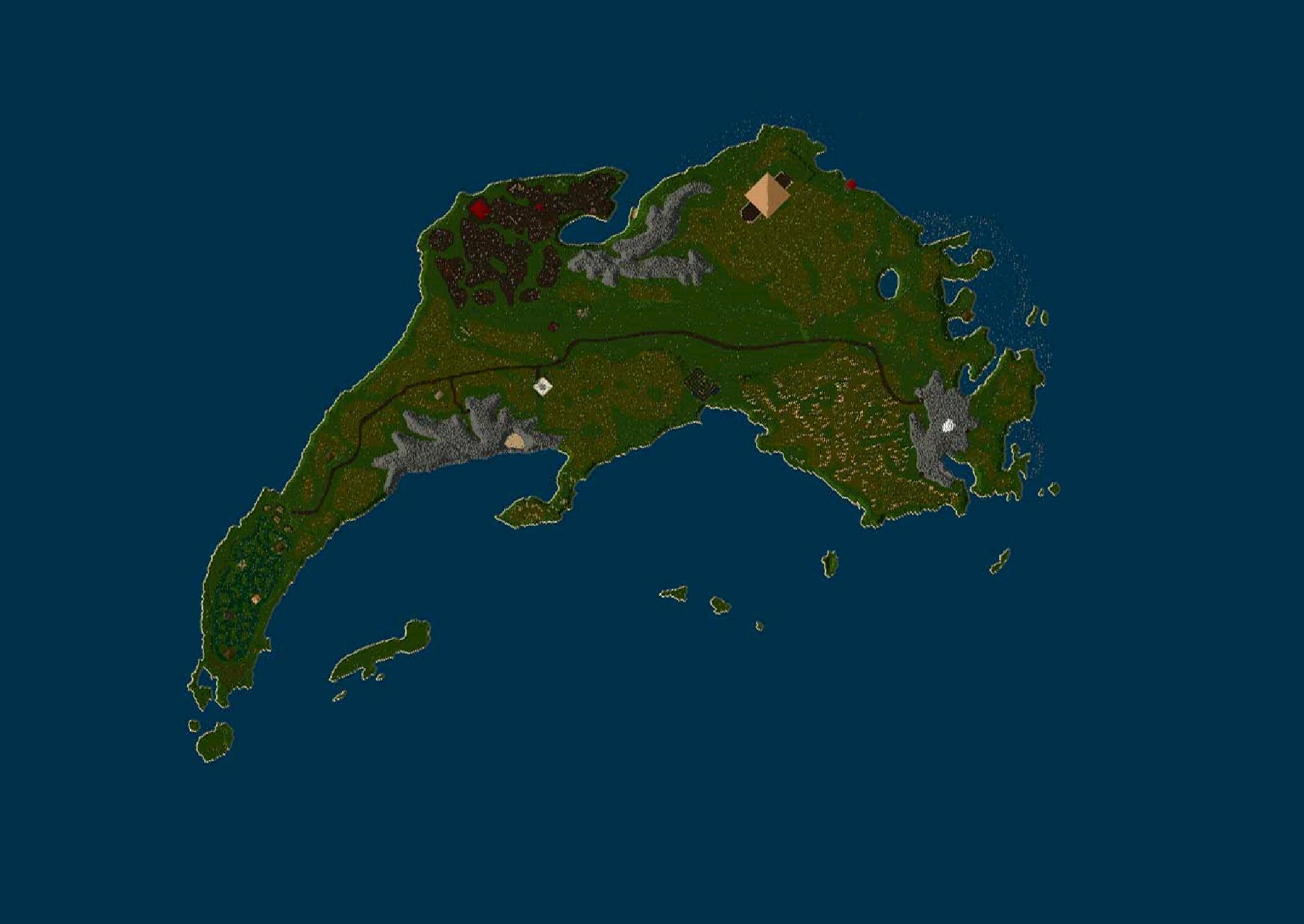 Map of Rondorin